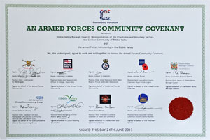 The Signed Community and Armed forces Covenant